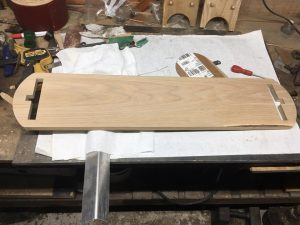 Shelf ready to be assembled